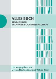 """Titelblatt der Reihe """"Alles Buch"""""""